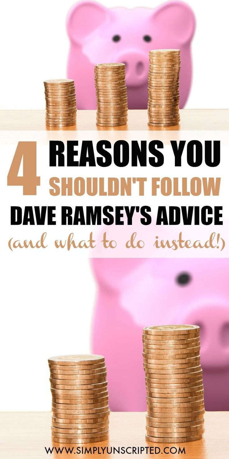 4 Reasons You Should Ignore Dave Ramsey's Financial Advice