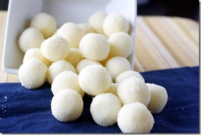 White chocolate Lemon Truffles..Amazing Easy...an elegant addition to your Easter desserts