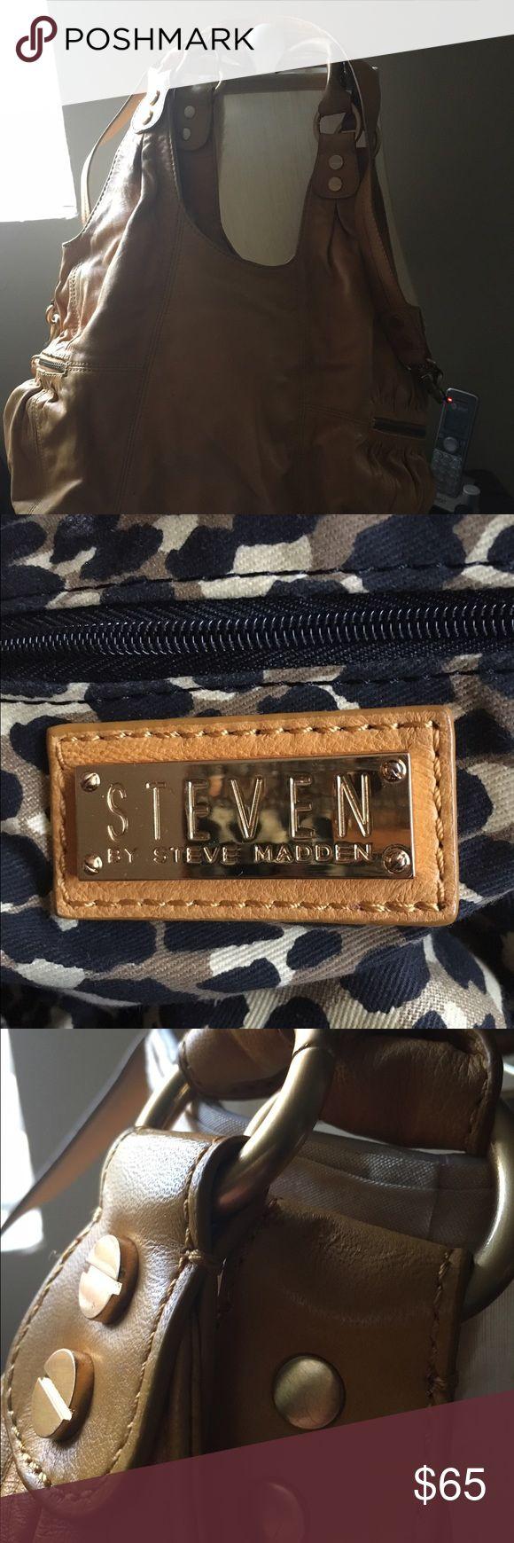 Beatiful Steve Madden Handbag! Steven( Steve Madden), used, Normal Wear, beautiful Color Steve Madden Bags Totes