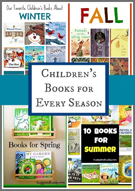 A great children's book resource for all year long!- Children's Books for All Seasons from Buggy and Buddy