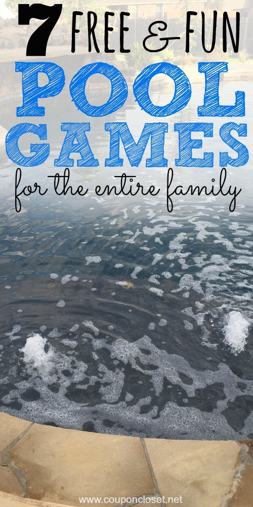 Swimming isn't expensive at all. You have have a blast as a family together. Here are 7 Swimming Pool Games for the Entire Family.