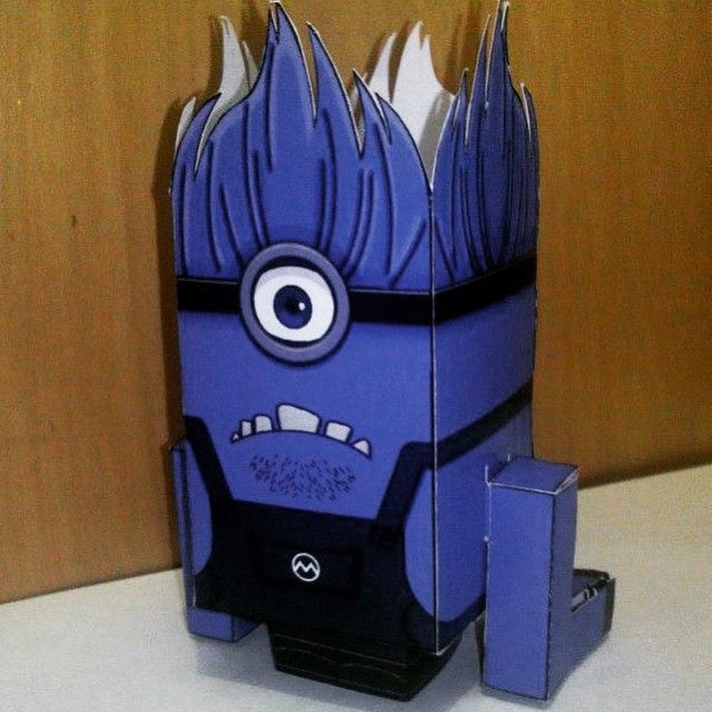 Minion Devil - My Cubecraft Collection  #CubeCraft #CubeDoll #Craft #KerajinanTangan #Koleksi #Collection #Minion #MinionDevil #PapperCraft