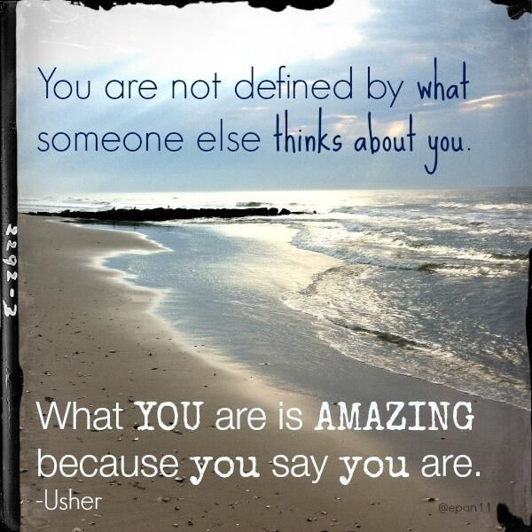 You are amazing! #Usher #quotes