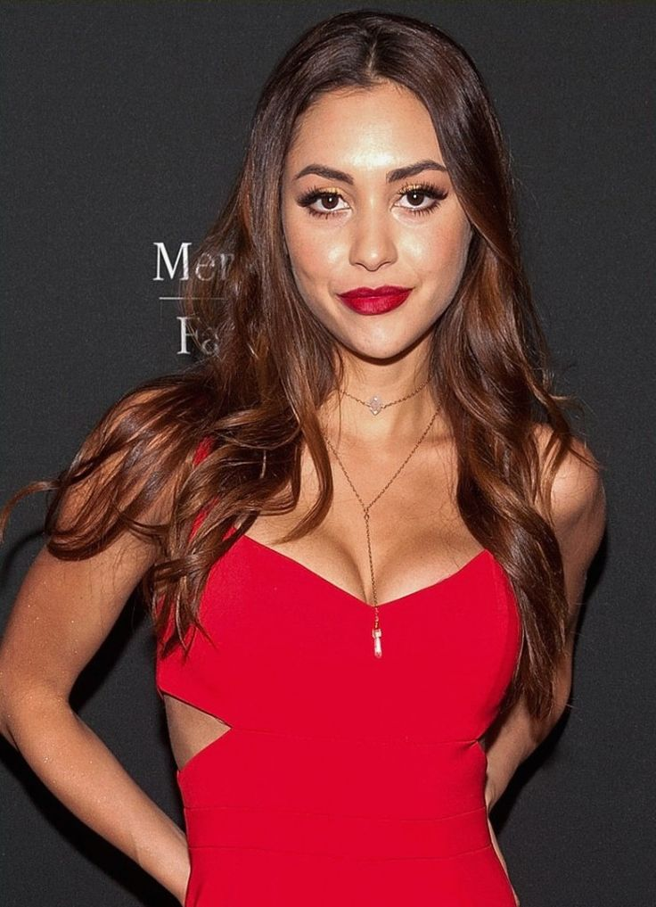 """Lindsey Morgan from the CW show """"THE 100"""" visits Caravan for her NYFW glam"""