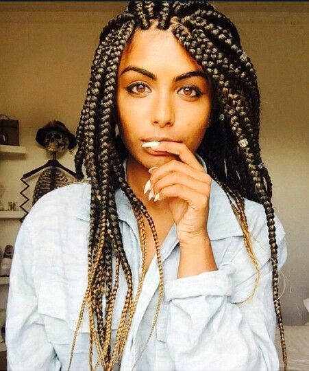 Fantastic 1000 Ideas About Jumbo Box Braids On Pinterest Box Braids Hairstyles For Men Maxibearus