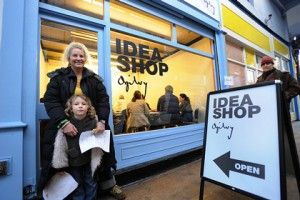 Pop-up PR stunts: Ogilvy Idea Shop