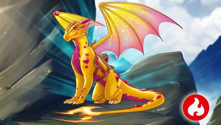 Elves LEGO.com | Zonya the fire dragon