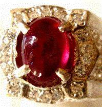 Batu mulia Merah delima