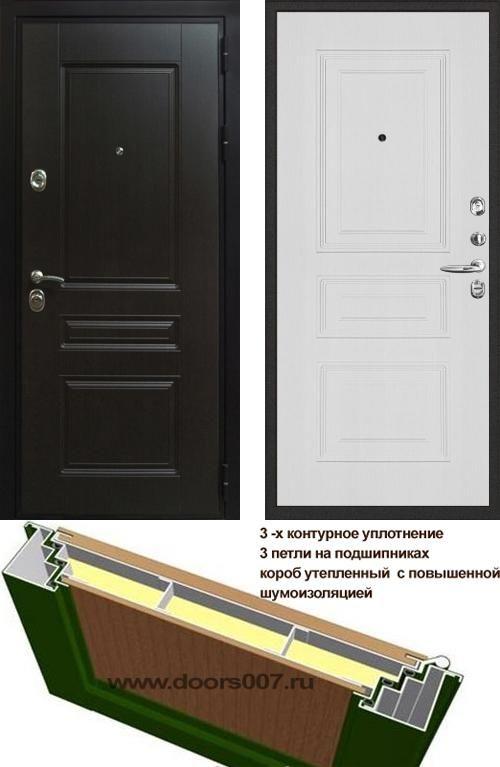 входные двери (стальные двери, металлические двери) DOORS007: дверь Распродажа Сенатор Премиум