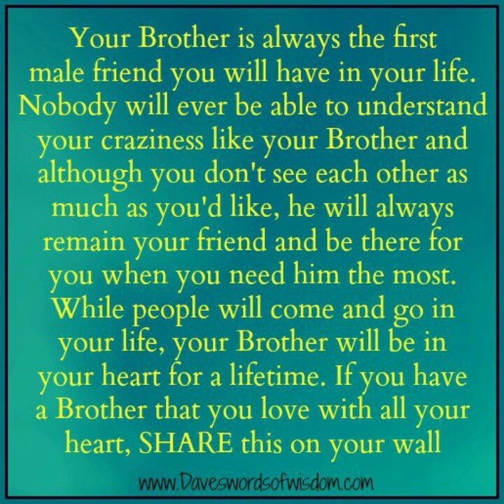 brother and relationship quotes