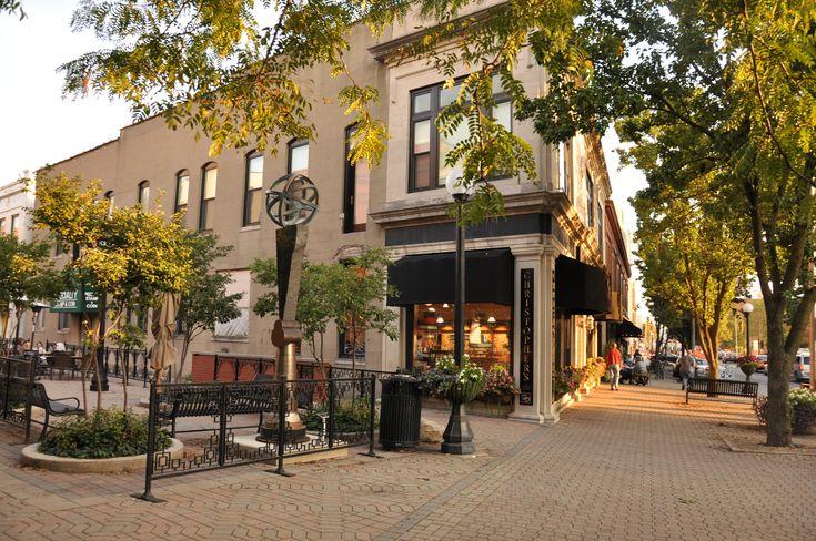 Downtown Champaign Illinois