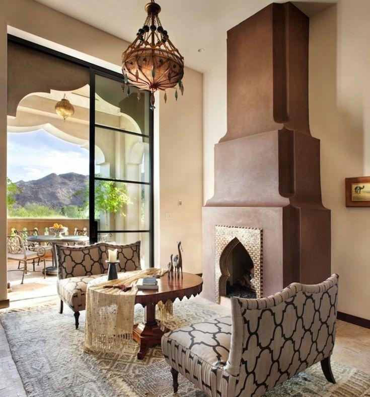 Orientalische Lampen Marokkanisch Wohnzimmer Pendelleuchte Steine