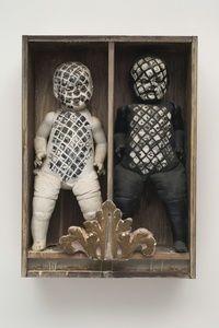 Edward Kienholz - It Takes Two to Integrate (Cha Cha Cha) #grotesco #escapismo #neobarroco #escultor