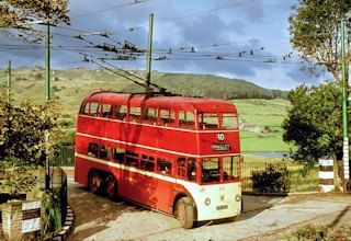 Lovely old picture, Huddersfield Trolley buses