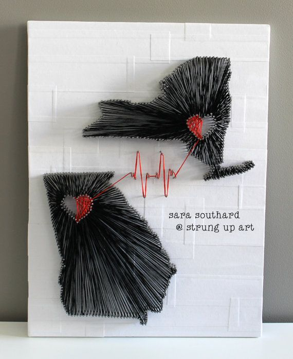 Hey, I found this really awesome Etsy listing at http://www.etsy.com/listing/151935311/two-states-custom-string-art