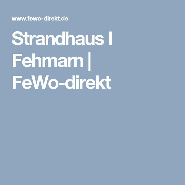 Strandhaus I Fehmarn   FeWo-direkt