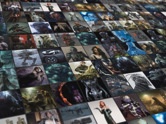 Next generation website for CG artists by Kirill Chepizhko — Kickstarter