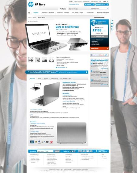 HP STORE - WORLDWIDE ECOMMERCE WEBSITE