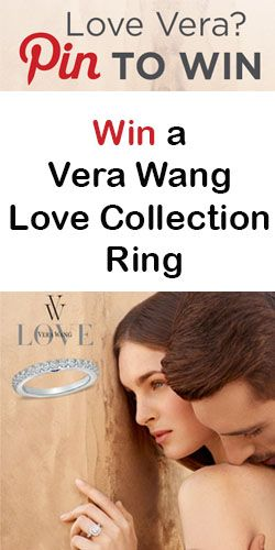 Win a Vera Wang Love Collection Ring  I would love to win one!   you try!  Good luck
