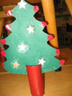 Kerstmis ruimtelijk knutselen » Juf Sanne