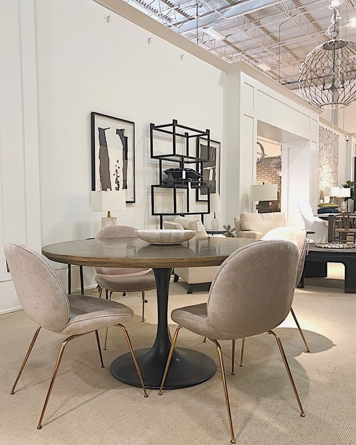 #Luna chair in the #CocoonFurnishings Oakville showroom