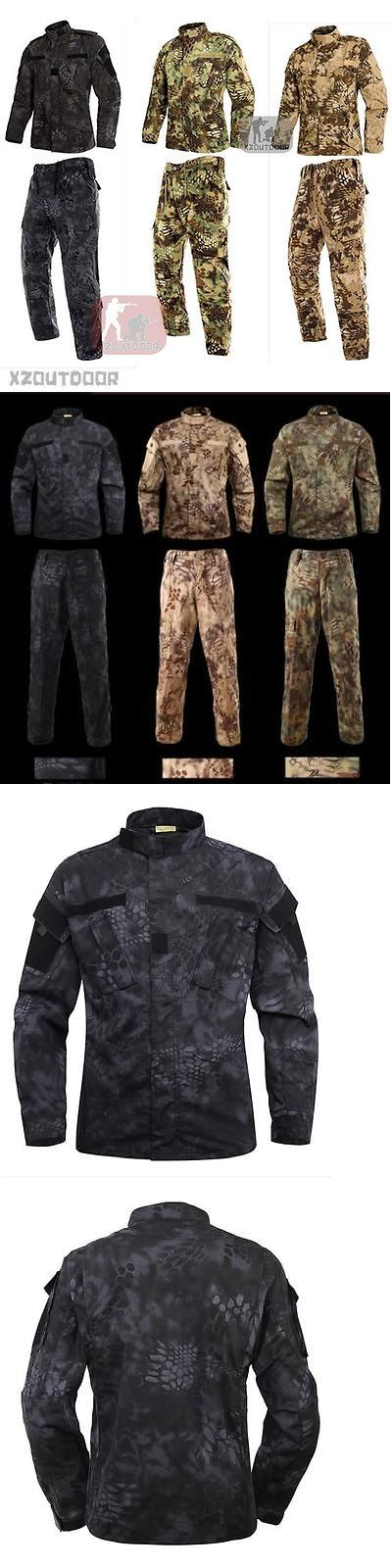 Other Uniforms and Work Clothing 163528: Airsoft Combat Military Bdu Tactical Uniform Jacket Pants Special Forces Suit -> BUY IT NOW ONLY: $45.99 on eBay!