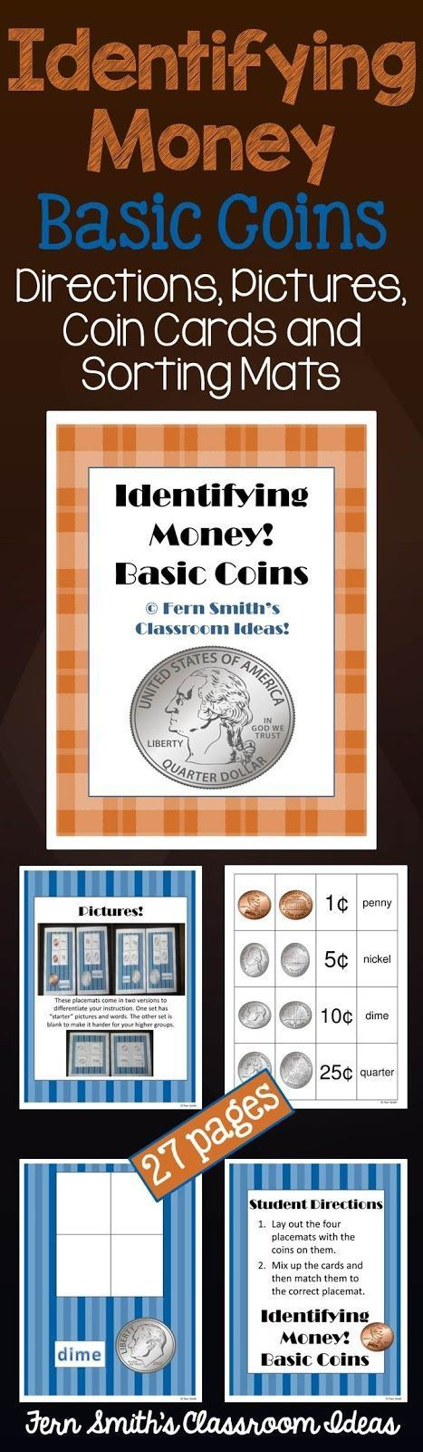 1000 Images About Money Activities For K 3rd Grade On