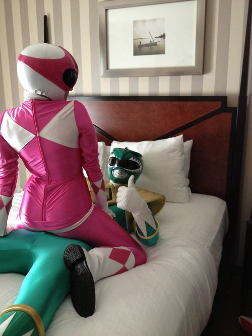 The Power Rangers episode that never aired... Who's gonna be the green one?