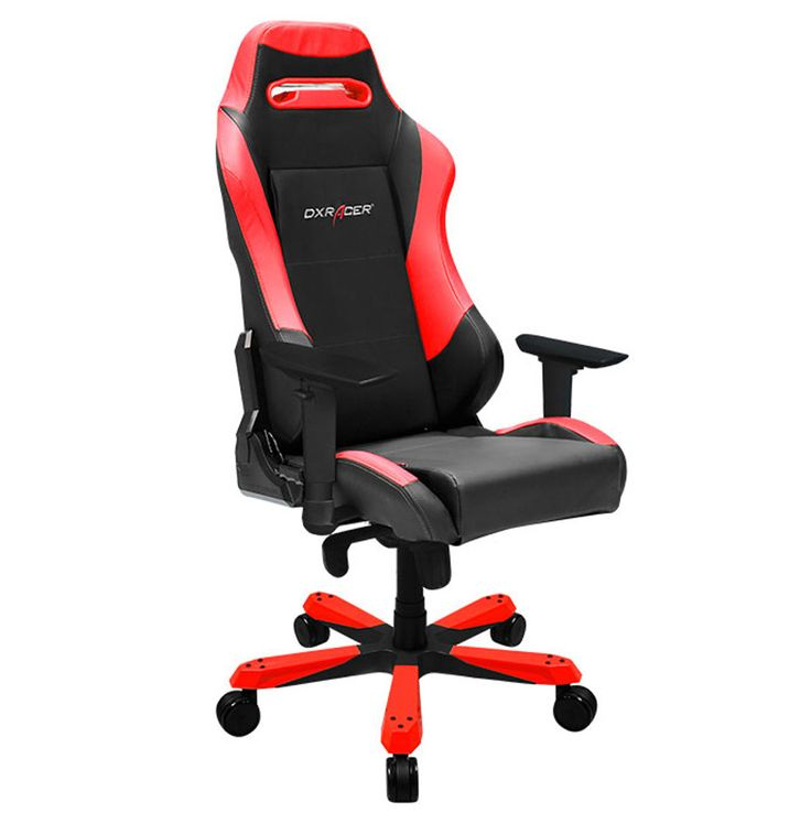 Dxracer Ib11nr Office Chair Gaming Automotive Seat Computer Black And Red