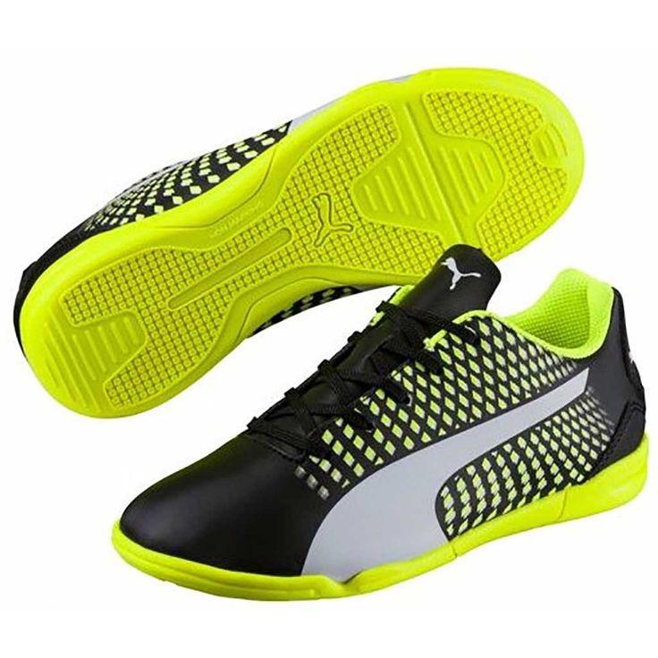 Chaussure de soccer int rieur enfant puma adreno iii it for Chaussure de soccer interieur