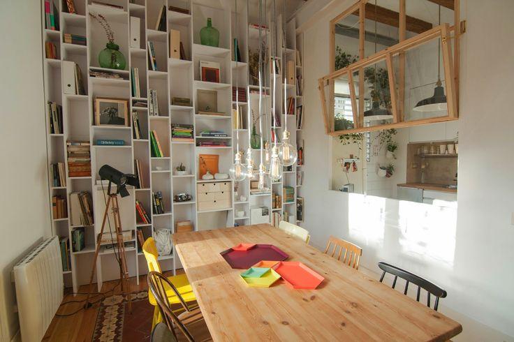 Renovated apartment in Barcelona by interior designer Neus Casanova: