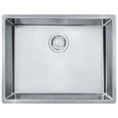franke cux11021 cube 22 34 undermount kitchen sink silver stainless steel - Kohler Waschbecken Schneidebrett