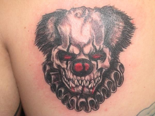 25 best ideas about clown tattoo on pinterest scary clown drawing creepy drawings and jester. Black Bedroom Furniture Sets. Home Design Ideas