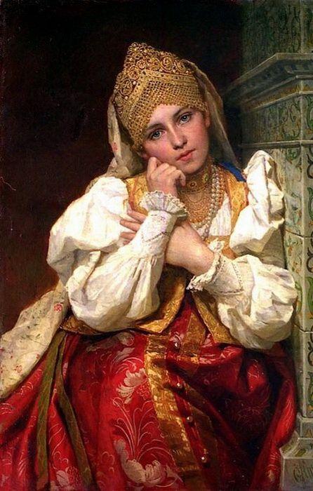 Марфа Собакина - третья жена Ивана Грозного