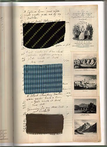 Barbara Johnson, a  well-off Englishwoman from a clerical family, made detailed notes about her wardrobe for the period 1760-1823