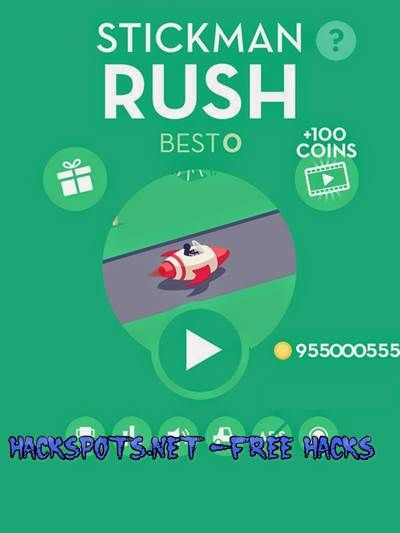 Stickman Rush Hack Cheats Unlimited Coins