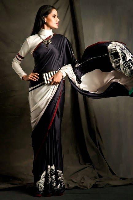 Satya-Paul - Mid-Summer Saree Collection