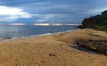 Mornington beach in the early morning