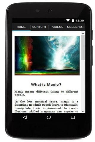 Magic means different things to different people. You will get to<br>learn more in this magic app the various tricks of magic. <br>- Card Magic Tricks<br>- Coin Magic Tricks<br>- Street Magic Tricks<br>- Stage Magic Tricks<br>- Hypnotism Tricks<br>- Mathemagic Tricks<br>- Optical Illusions<br>- Bar Magic Tricks<br>- Comedy Magic Tricks<br>Don't miss it.  Download now!  http://Mobogenie.com