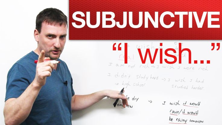 "English Grammar - ""I wish..."" - Subjunctive - Learn and improve your English language with our FREE Classes. Call Karen Luceti 410-443-1163 or email kluceti@chesapeake.edu to register for classes. Eastern Shore of Maryland. Chesapeake College Adult Education Program. www.chesapeake.edu/esl."