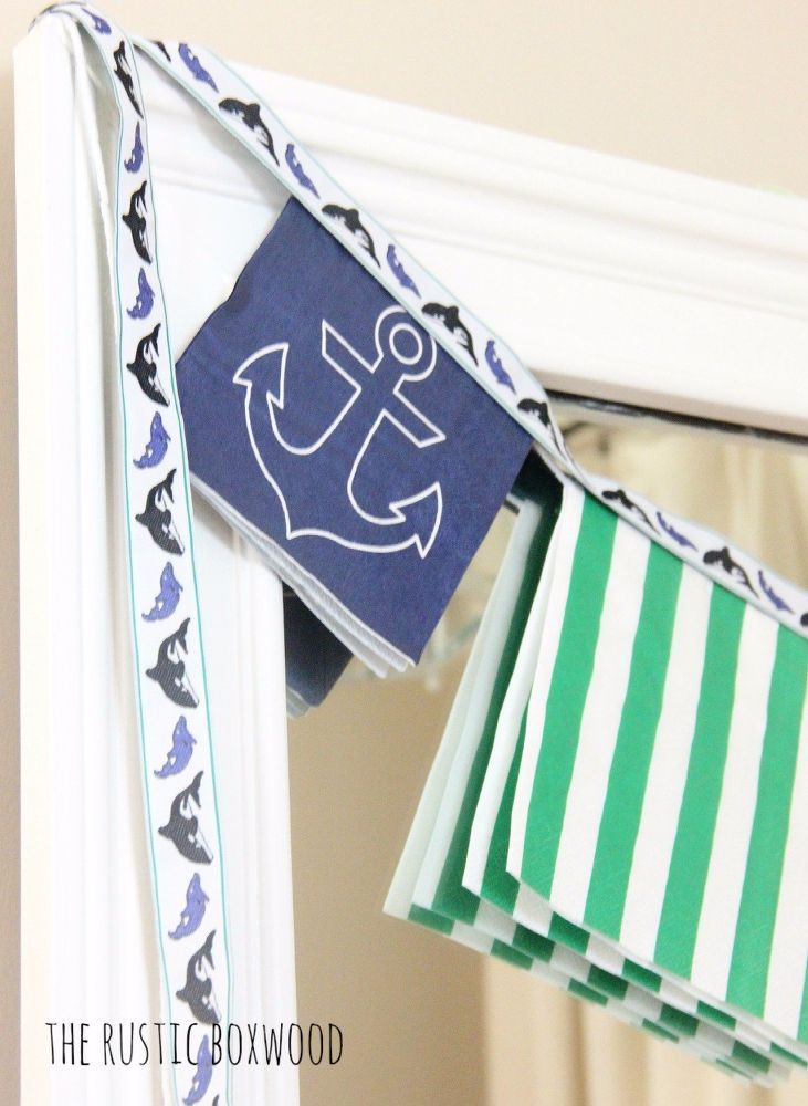 Easy (and Inexpensive!) Tutorial for a Paper Napkin Garland