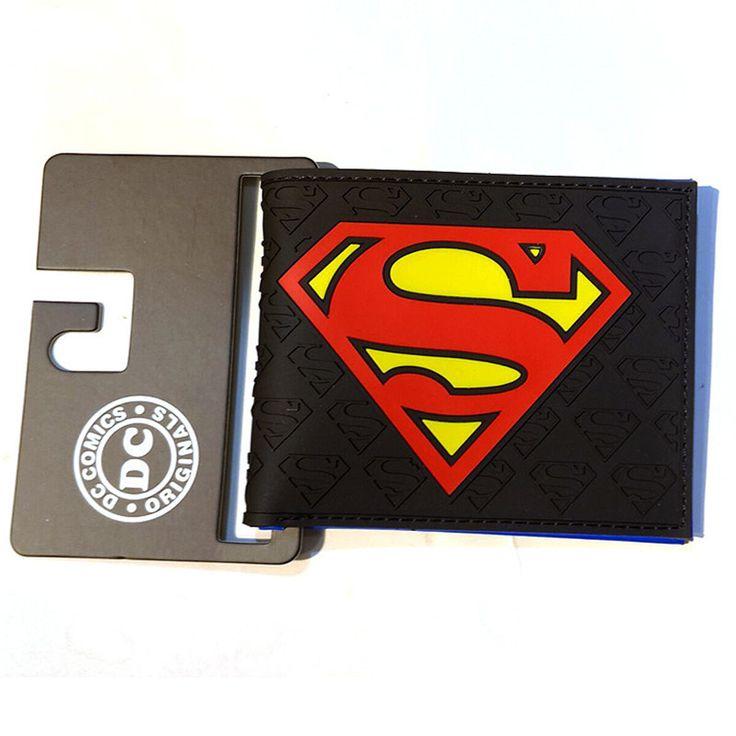 The Avengers Batman Superman Wallets Captain AMERICAN AND Flashman