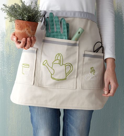 Home Made Apron For Gardening
