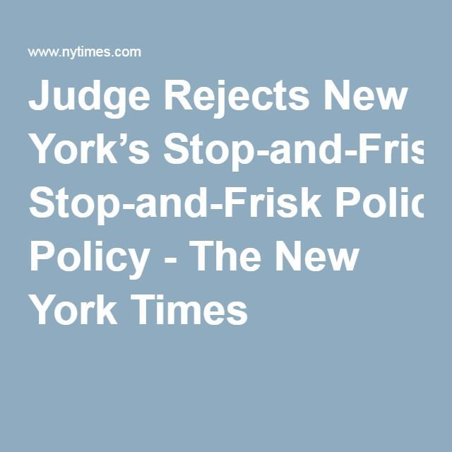 stop frisk policy racist or Critics of the new york city police department's stop-and-frisk policy watch deliberations at a city council hearing on aug 22, 2013 in new york city.