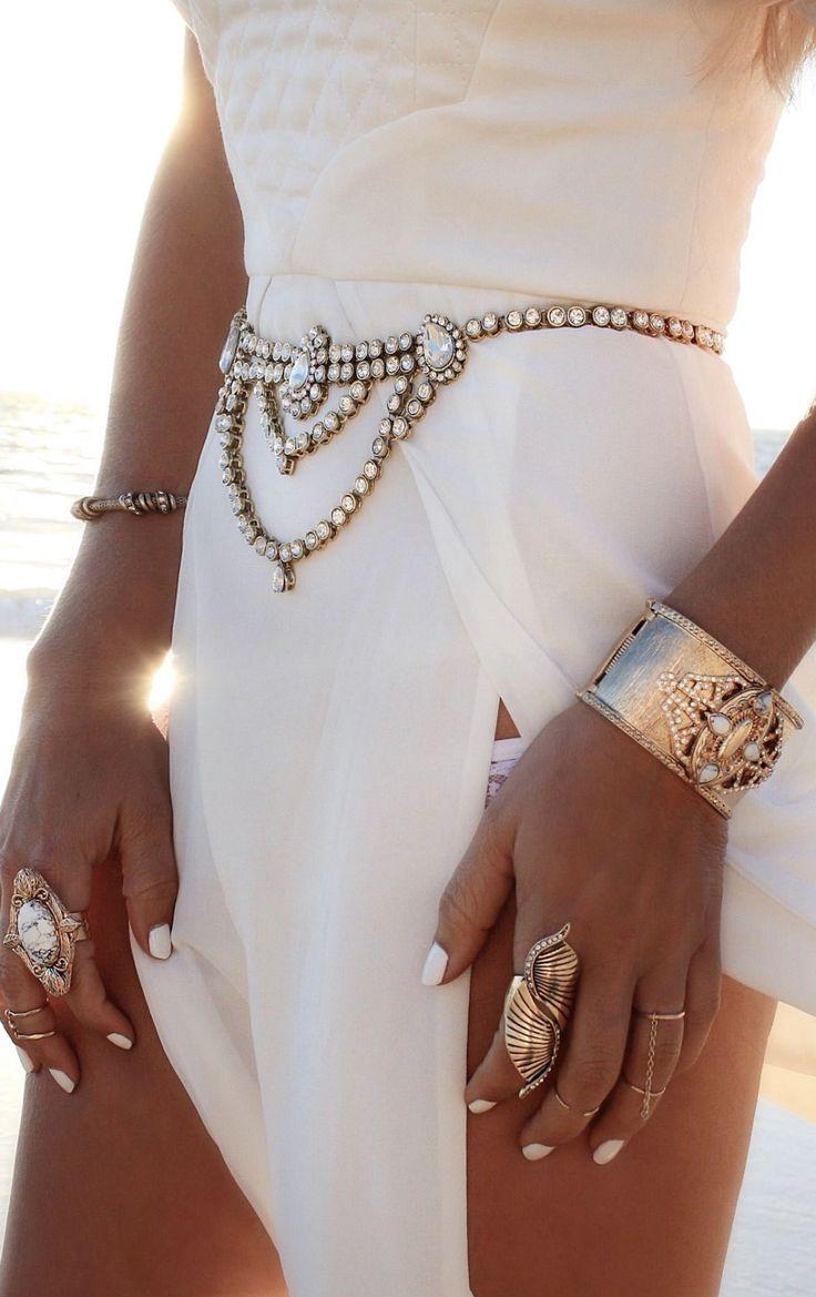 Bohemian jewelry boho hippie rings cuffs bracelets