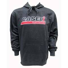 Case IH Agriculture Logo on Heather Charcoal Pullover Hoodie