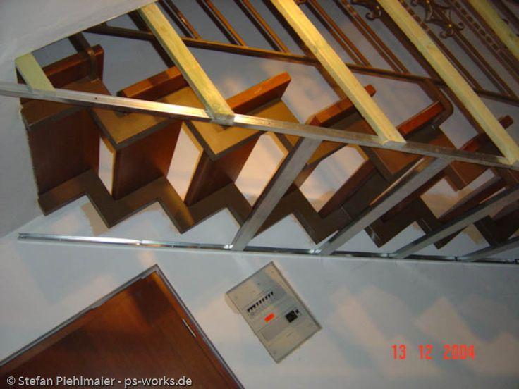 verkleidung einer offenen treppe treppe in 2019 pinterest treppe offene treppe und. Black Bedroom Furniture Sets. Home Design Ideas