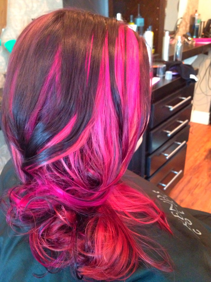 82 Best Hair Images On Pinterest Colourful Hair Hair Color And