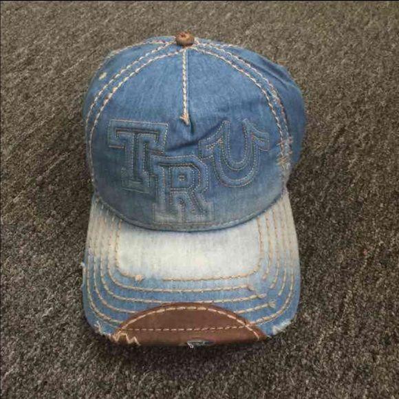 New True Religion Unisex Light Blue Hat New True Religion Hat Color: Light Blue Size: Adjustable True Religion Accessories Hats