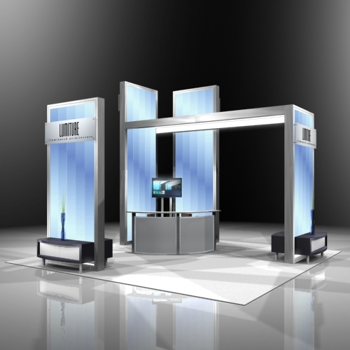 Simple Exhibition Stand Out : Cool simple and elegant booth design sudsy buddies
